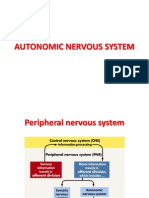 physiology ....final material .... CNS .... Autonomic Nervous System