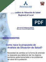 1. Del ASIS Regional Al ASIS Local