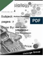script #4 Action Potential