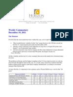 2011-12-19 Horizon Commentary