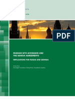 Russian WTO Accession and the Geneva Agreements