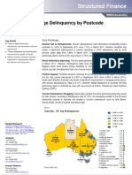 Australian Mortgage Delinquency by Postcode 30 September 2011