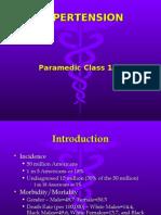 Hypertension for EMS Providers
