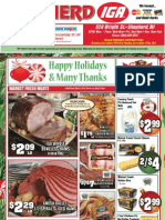 IGA MI Coupons Circular 19 Dec 11 Shepherd