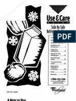 Use and Care Guide - 2189605
