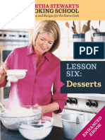Martha Stewart's Cooking School, Desserts, Butter and Drop Cookies