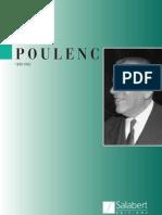 Catalogue Oeuvres Poulenc