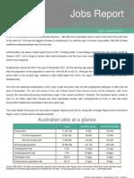 ACTU Jobs Report December 2011