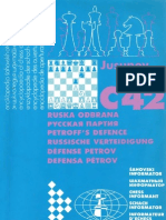 C42 - Petroff's Defence - Chess Informant - Artur Yusupov