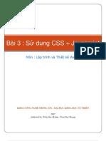 Bai 3 - Su Dung CSS Va Javascript