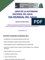 Dia Del Agua y Cultura de Agua Cajamarca Percy Feijoo