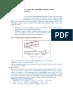 Fungsi Sloof Dan Cara Menghitung Kebutuhan Material Sloof