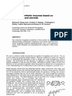Richard P. Bonar-Law, Lindsey G. Mackay, Christopher J. Walter, Valdrie Marvaud and Jeremy K. M. Sanders- Towards synthetic enzymes based on porphyrins and steroids