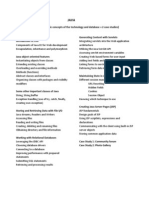 PDFSyllabus_4 Weeks Program - JAVA