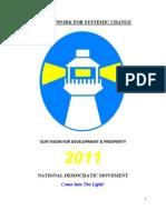 NDM Manifesto 2011