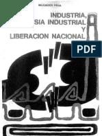 Peña, Industria, Burguesia Industrial y Liberacion Nacional