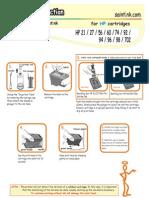 HP Refill Inst' GP56 Black
