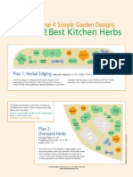 Culinary Herbs Garden Bed Designs