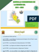 Plan de Desarrollo Concertado de la Región Ica - 2011-2021