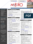 NewsFolio December 2011 -Industry's Year Ending Events