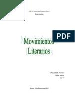 Movimientos literarios nuevo