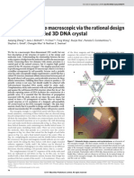 Jianping Zheng et al- From molecular to macroscopic via the rational design of a self-assembled 3D DNA crystal