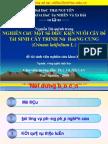 Nghien Cuu Mot So Dieu Kien Nuoi Cay de Tai Sinh Cay Trinh Nu Hoang Cung