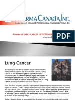 PharmaCanada - Lung Cancer & Early Cancer Detection