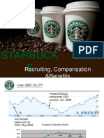 Starbucks Recruiting, Compensation, and Benefits