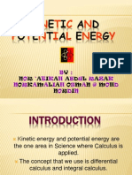 Application math in physics (Kinetic and Potential Energy)