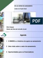 Saneamento apresentação Dinherio Vivo