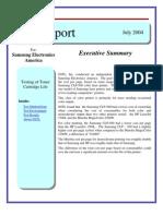 Samsung Report