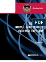 Reliance by Internal Audit on Other Assurance Providers
