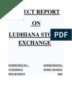 27325999 the Ludhiana Stock Exchange Limited Was Establishe