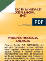 La Oralidad en La Nueva Ley Proc Laboral Ponencia Cap.