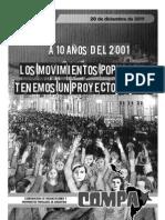 Cartilla COMPA - A 10 años del 2001