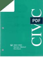 Honda_Civic (02-03) Service Manual OCRed