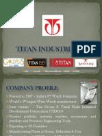 Titan Industries Ltd