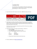 Petunjuk Aktivasi Melalui iPad