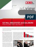 Fachgruppenzeitung Werbung und Marktkommunikation Januar 2012