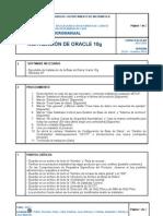 Instalación de Oracle en Windows XP