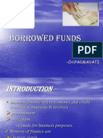 Borrowed Funds