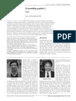 Xiaojun Zhao and Shuguang Zhang- Molecular designer self-assembling peptides