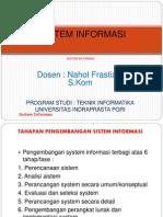 Sistem Informasi Siklus Hidup Sistem