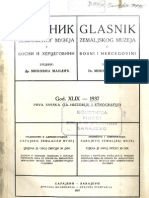 Glasnik Zemaljskog Muzeja 1937./god.49 sv.1
