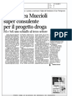 Asl, Andrea Muccioli super consulente per il progetto droga - Corriere della sera.