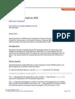 Au Sendmail on Aix PDF
