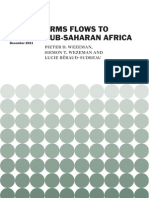 Arms Flows to Sub-Saharan Africa