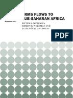 Arms Flows to Sub-Saharan Africa