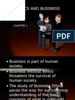 Chapter 1 Ethics and Business